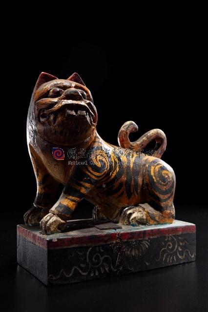 虎爺木雕-物件圖片#1